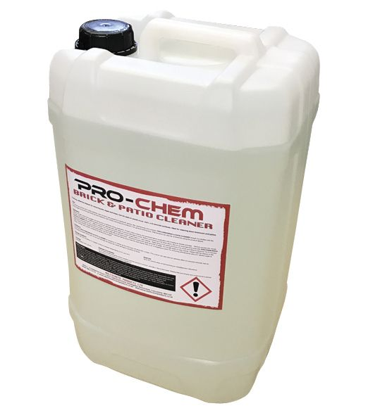 Hydrochloric acid brick and patio cleaner 25ltr for Hydrochloric acid for cleaning concrete